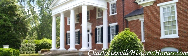 Charlottesville Virginia Historic homes for sale