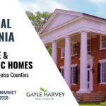 EAST Central Virginia (Fluvanna & Louisa Counties) – Antique & Historic Homes 10/31/18