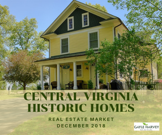 Central Virginia Antique & Historic Homes Dec 2018