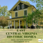 EAST Central Virginia (Fluvanna & Louisa Counties) – Antique & Historic Homes 12/31/18
