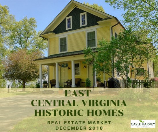 EAST Central Virginia (Fluvanna & Louisa Counties) - Antique & Historic Homes 12/31/18
