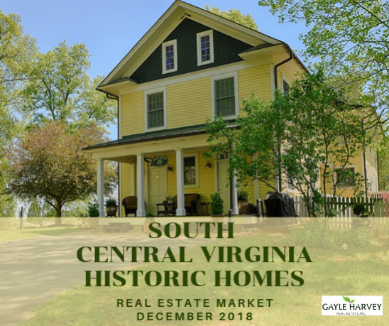 SOUTH Central Virginia (Buckingham & Nelson Counties) - Antique & Historic Homes 12/31/18